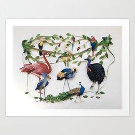 Fly Me to the Tropics Art Print