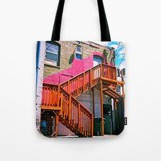 Alleyway architecture Tote Bag
