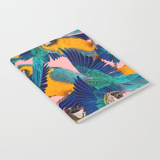 Ara Parrot Notebook