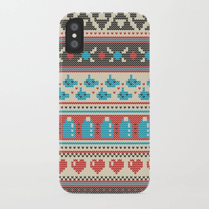 Fair-Hyle Knit iPhone Case
