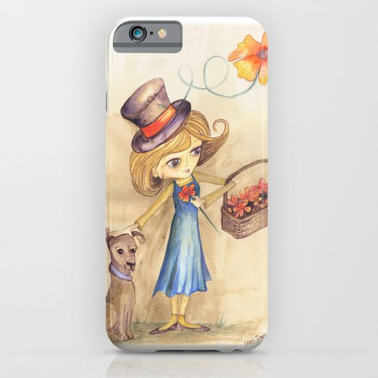 Flower Girl and her friend iPhone & iPod Case