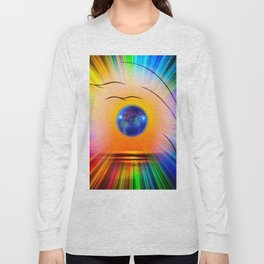 Abstract in perfection - Fertile Imagination Rose Long Sleeve T-shirt