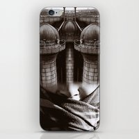 industrial iPhone & iPod Skins featuring Industrial by Cash Mattock