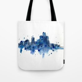 Going Downtown: Detroit Tote Bag