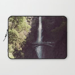 Multnomah Falls Waterfall - Nature Photography Laptop Sleeve