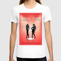 seinfeld T-shirts featuring Rochelle Rochelle - Movie Poster - Seinfeld by William Cuccio aka WCSmack