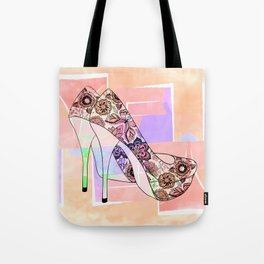 The Right Shoes 2 Tote Bag