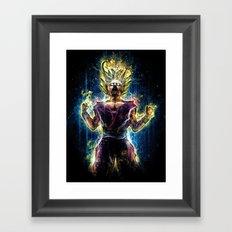 Emotional Fighter Level 2 Framed Art Print