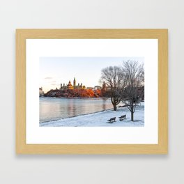 Beautiful Ottawa Framed Art Print