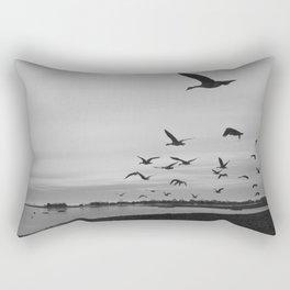 Birds Flight Rectangular Pillow