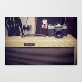 Music/Photography Canvas Print