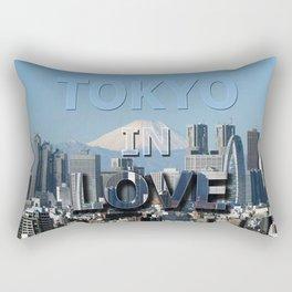 tokyo in love Rectangular Pillow
