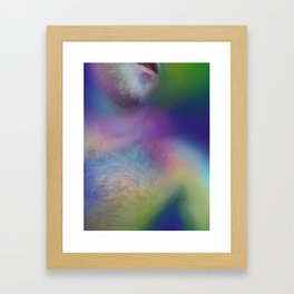 The Book's Erotic Content Framed Art Print