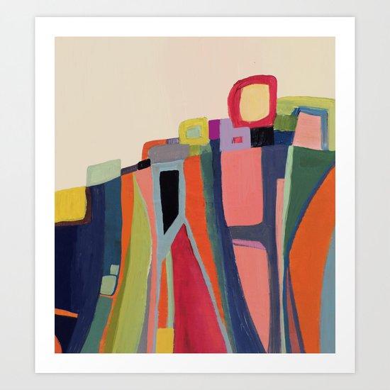 falaise Art Print
