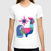 oriental T-shirts featuring Oriental rooster by wonman kim