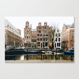 Nieuwmarkt - Amsterdam, The Netherlands -#12 Canvas Print
