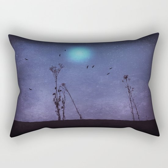 night dance Rectangular Pillow