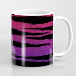 Red/Blue Gradient Tiger Skin Coffee Mug
