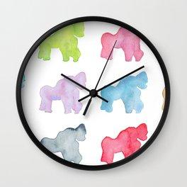 [Endangered Animals] - Gorilla Wall Clock