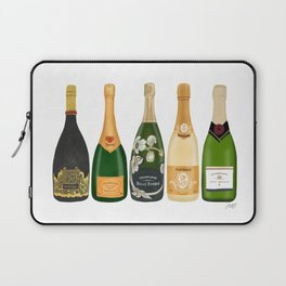 Champagne Bottles Laptop Sleeve