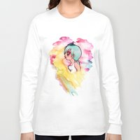 cherry Long Sleeve T-shirts featuring Cherry by Paytno