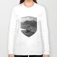 arizona Long Sleeve T-shirts featuring Arizona by WeLoveHumans
