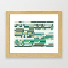 Debussy Little Shepherd (Greens) Framed Art Print