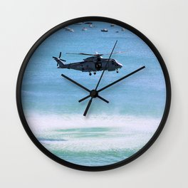 Sea Hover Wall Clock