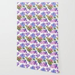 Hydrangea Pattern 03 Wallpaper