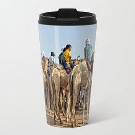 Nomads and camels - Niger, West Africa Travel Mug