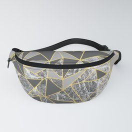 Ab Marb Grey Returned Fanny Pack