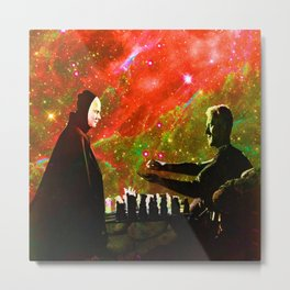 Playing chess with Death Metal Print
