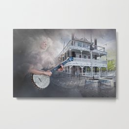 Songs on the River Metal Print