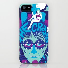 THE ROOTS OF HORROR ROCK :: THE CRAMPS iPhone Case