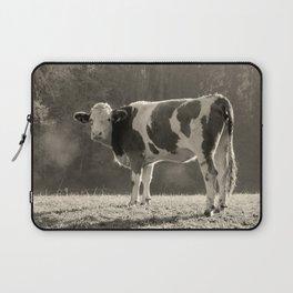 Cow in Field Laptop Sleeve