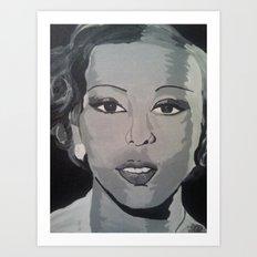 Black Pearl Art Print