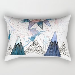 Sun Scape Rectangular Pillow