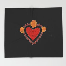 Black love Throw Blanket
