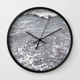 Water Flows Wall Clock