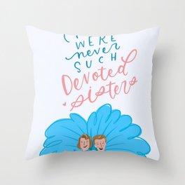 White Christmas - SISTERS Throw Pillow