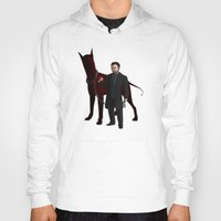 crowley Hoodies featuring Crowley by Jennilah