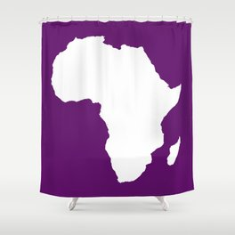 African Violet Audacious Africa Shower Curtain