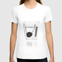 vodka T-shirts featuring Cherry Vodka  by Lucas Hayas