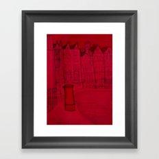 hanz place (london) Framed Art Print