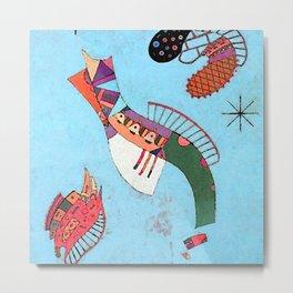 Wassily Kandinsky Three Stars Metal Print