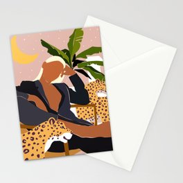 Girl Boss #illustration #painting Stationery Cards