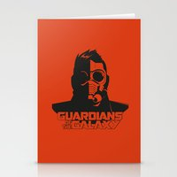 starlord Stationery Cards featuring Starlord by bookotter