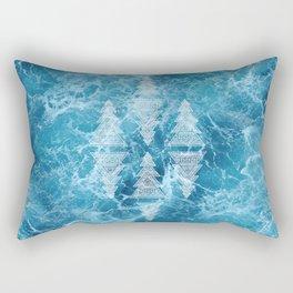Ocean Arrows Rectangular Pillow