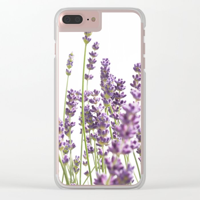 Purple Lavender #3 #decor #art #society6 Clear iPhone Case