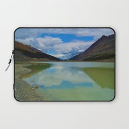Sunwapta Lake at the Columbia Icefields in Jasper National Park, Canada Laptop Sleeve